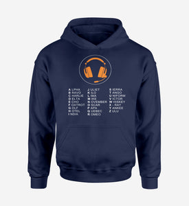 Aviation Alphabet 3 Designed Hoodies