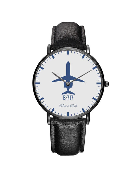 Boeing 717 Leather Strap Watches