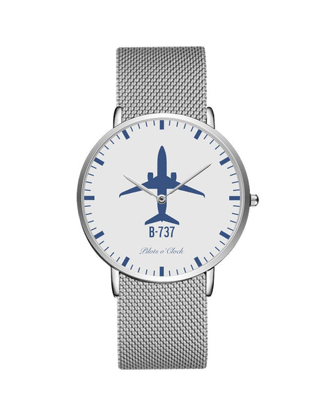 Boeing 737 Stainless Steel Strap Watches