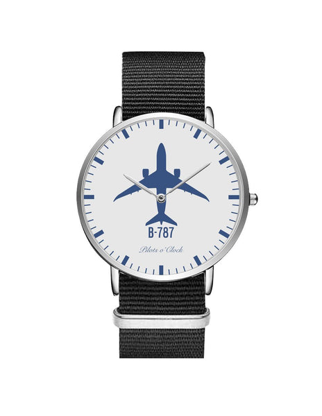 Boeing 787 Leather Strap Watches