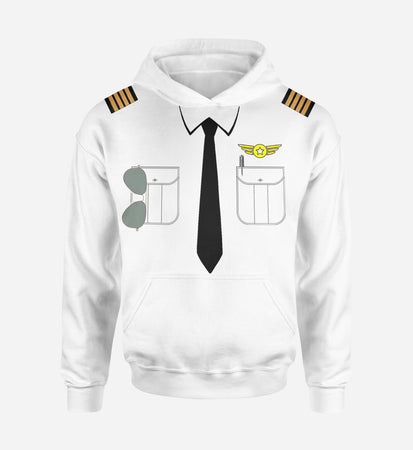 Customizable Pilot Uniform (Badge 4) Designed 3D Hoodies