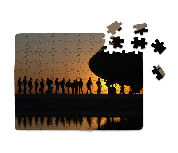 Band of Brothers Theme Soldiers Printed Puzzles Aviation Shop
