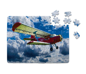 Beautiful Clouds & Antonov-2 Printed Puzzles Aviation Shop
