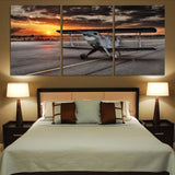 Beautiful Show Airplane Printed Canvas Posters (3 Pieces) Aviation Shop