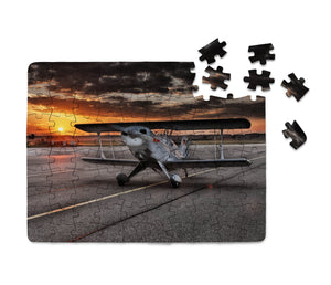 Beautiful Show Airplane Printed Puzzles Aviation Shop