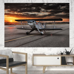 Beautiful Show Airplane Printed Canvas Posters (1 Piece) Aviation Shop
