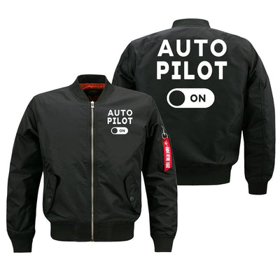 Auto Pilot ON Designed Pilot Jackets (Customizable)