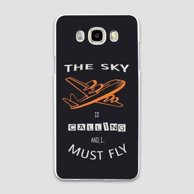 The Sky Is Calling I Must Fly Designed Samsung C & J Cases