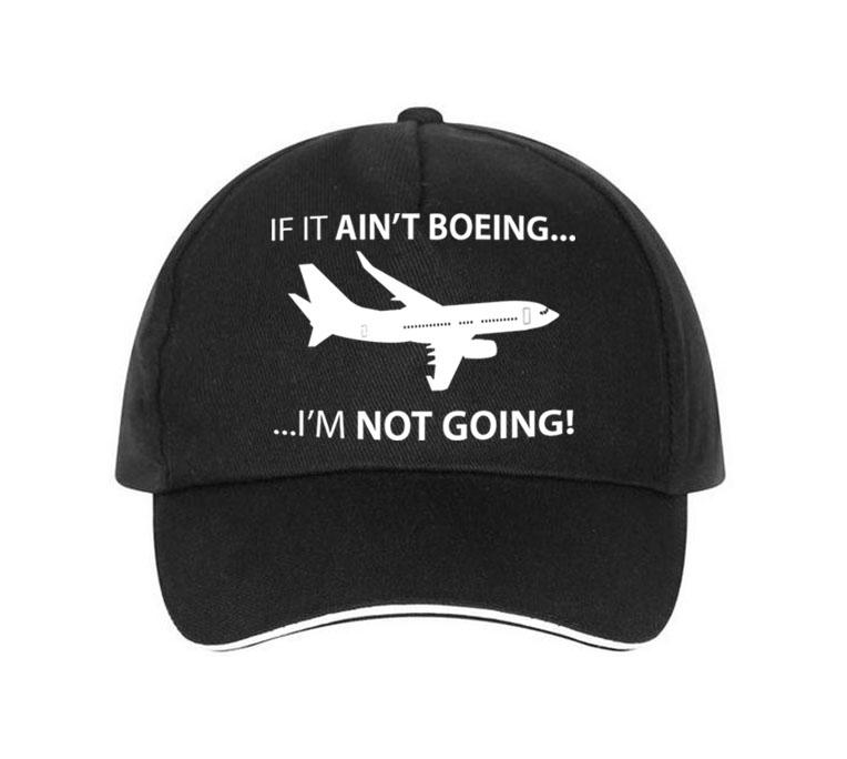 If It Ain't Boeing, I am not Going Hats Pilot Eyes Store Black