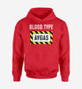 Blood Type AVGAS Designed Hoodies