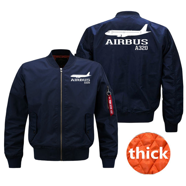 Airbus A320 Printed Pilot Jackets (Customizable)