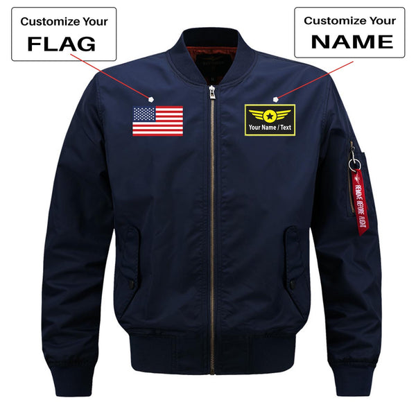Air Traffic Controllers - We Rule The Sky Designed Pilot Jackets (Customizable)