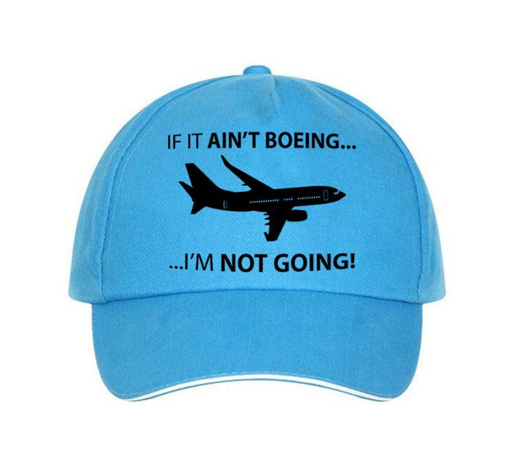 If It Ain't Boeing, I am not Going Hats Pilot Eyes Store Blue