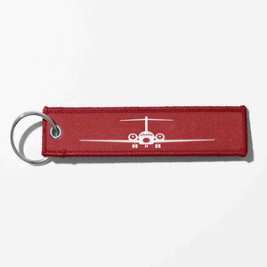 Boeing 717 Silhouette Designed Key Chains