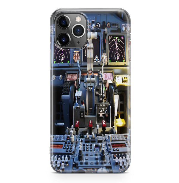 Boeing 737 Cockpit Printed iPhone Cases