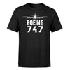 Boeing 747 & Plane Designed T-Shirts