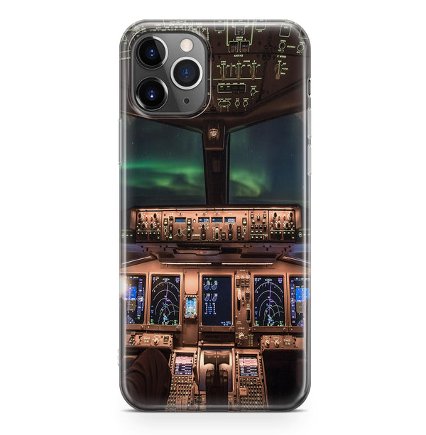 Boeing 777 Cockpit Printed iPhone Cases