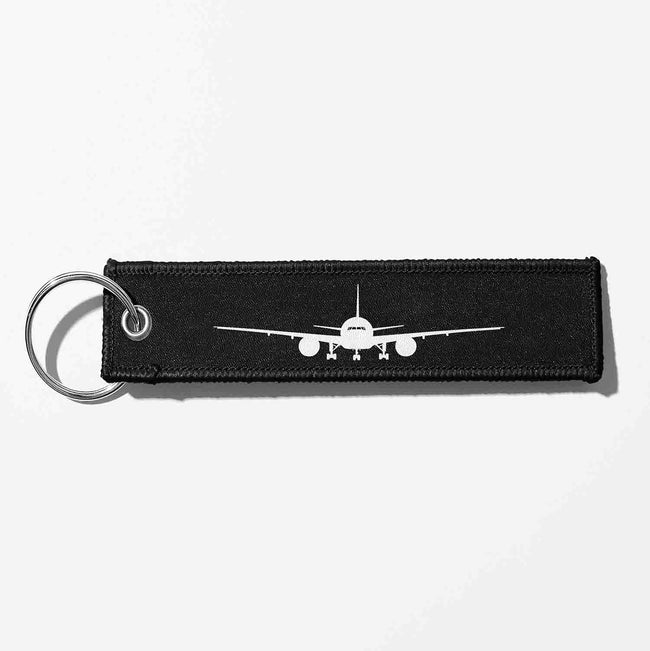 Boeing 777 Silhouette Designed Key Chains