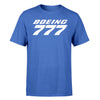 Boeing 777 & Text Designed T-Shirts