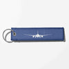 Boeing 787 Silhouette Designed Key Chains
