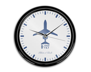 Boeing 727 Printed Wall Clocks Aviation Shop