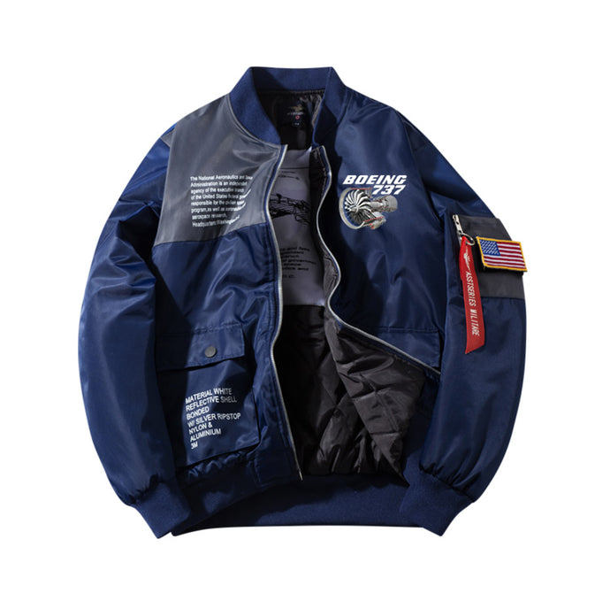 Boeing 737 & CFM56 Engine Designed Special Jackets (Customizable FLAG)