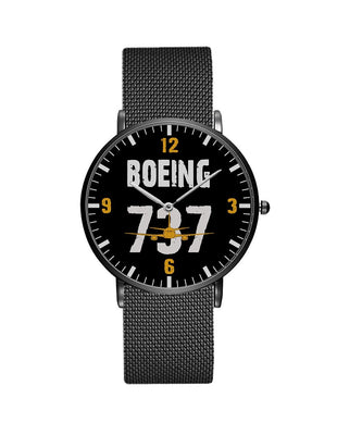 Boeing 737 Designed Stainless Steel Strap Watches