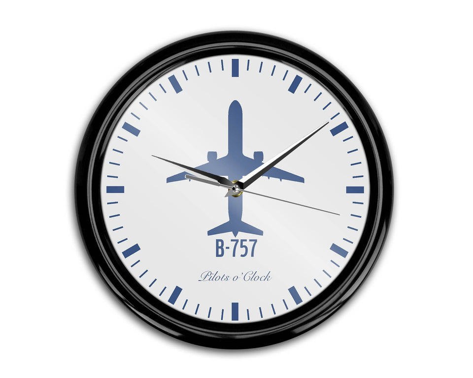 Boeing 757 Printed Wall Clocks Aviation Shop