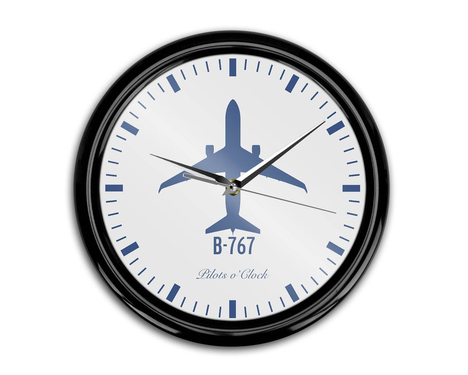 Boeing 767 Printed Wall Clocks Aviation Shop