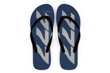 Boeing 777 Text Designed Slippers (Flip Flops)