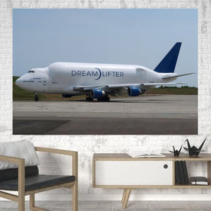 Boeing Dreamlifter Printed Canvas Posters (1 Piece) Aviation Shop