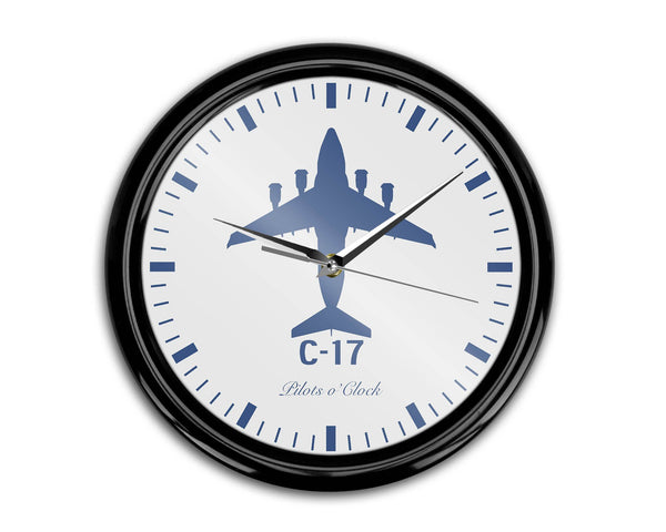 Boeing GlobeMaster C-17 Printed Wall Clocks Aviation Shop