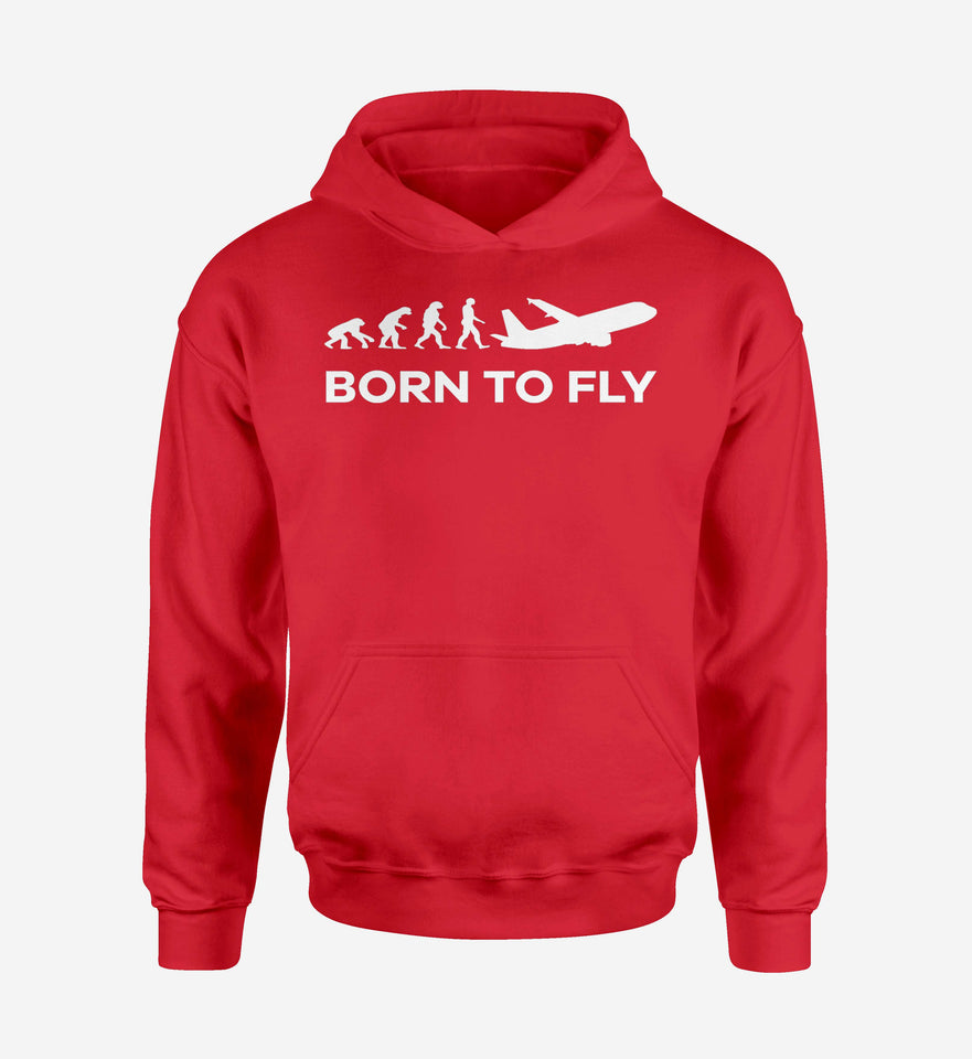 Born To Fly Designed Hoodies