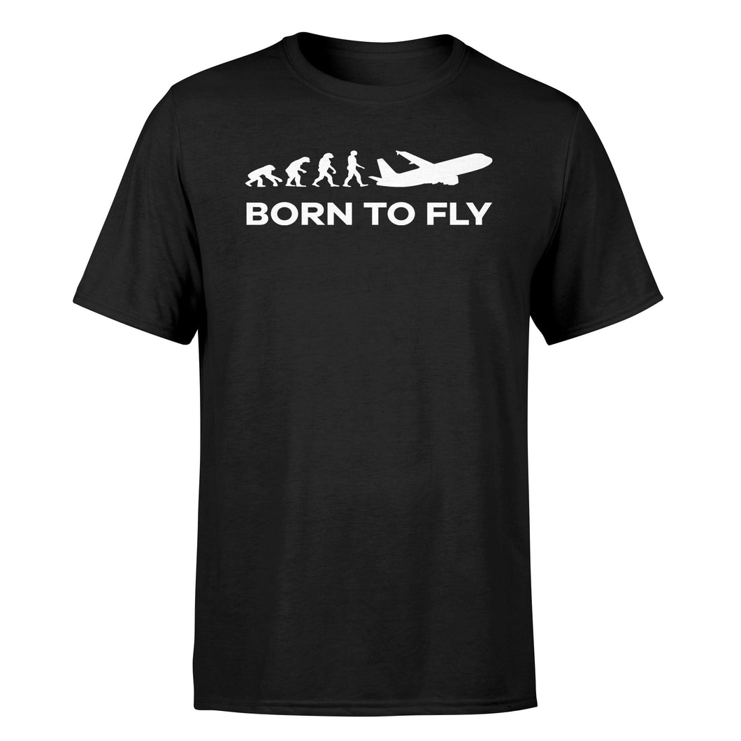 Born To Fly Designed T-Shirts