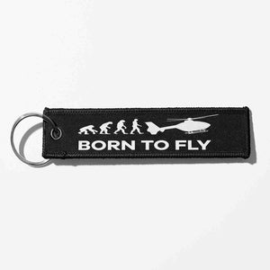 Born To Fly (Helicopter) Designed Key Chains