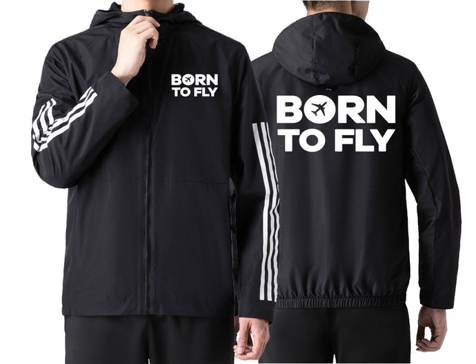 Born To Fly Special Designed Windbreaker Jackets