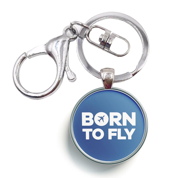 Born To Fly Special Designed Circle Key Chains