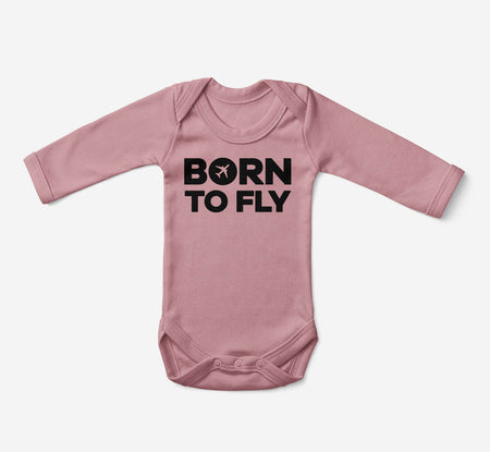 Born To Fly Special Designed Baby Bodysuits