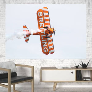 Breitling Show Aircraft Printed Canvas Posters (1 Piece) Aviation Shop