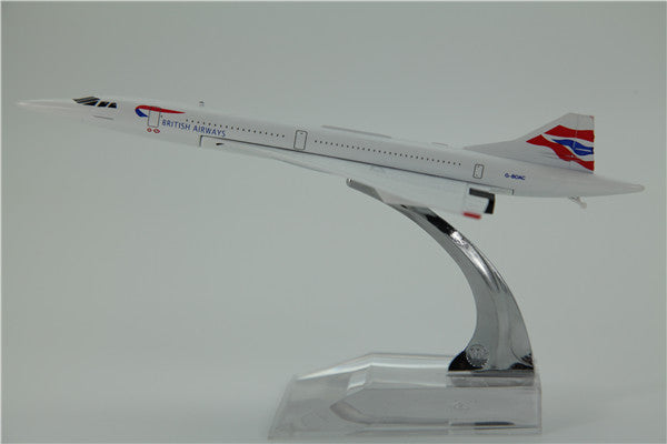 British Airways Concorde Airplane Model (16CM)