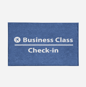 Business Class - Check In Designed Door Mats Aviation Shop