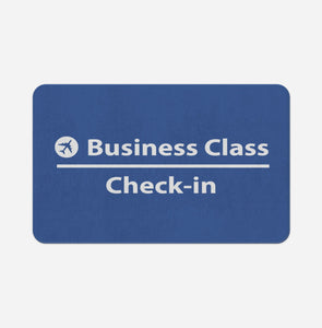 Business Class - Check In Designed Bath Mats Pilot Eyes Store Floor Mat 50x80cm