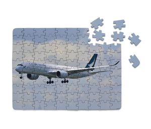 Cathay Pacific Airbus A350 Printed Puzzles Aviation Shop