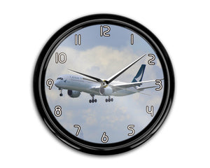 Cathay Pacific Airbus A350 Printed Wall Clocks Aviation Shop
