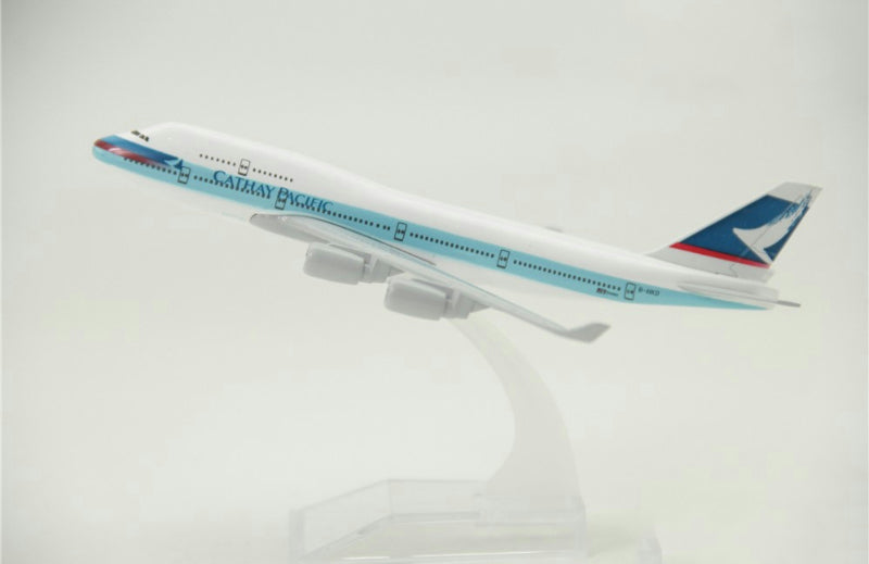 Cathay Pacific Boeing 747 Airplane Model (16CM)