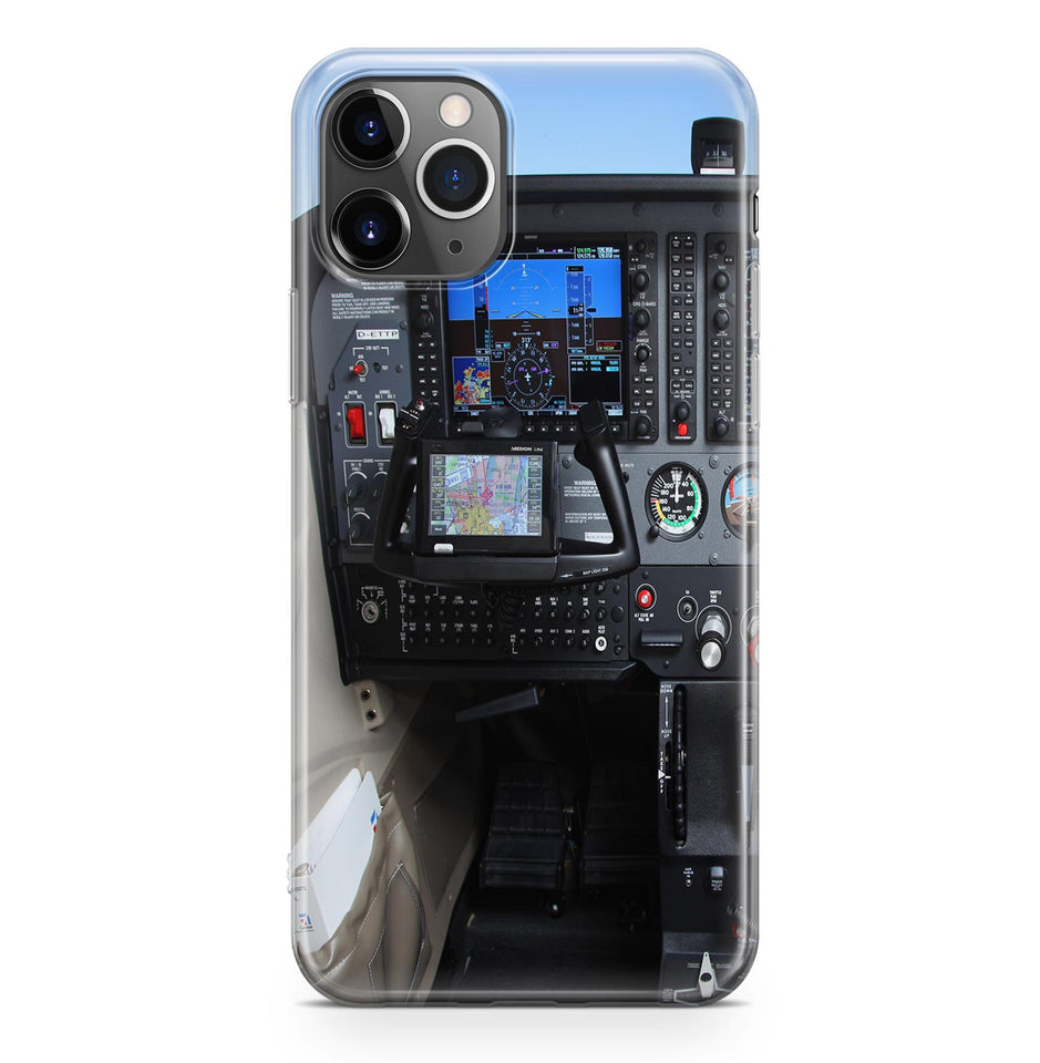 Cessna 172 Cockpit Printed iPhone Cases