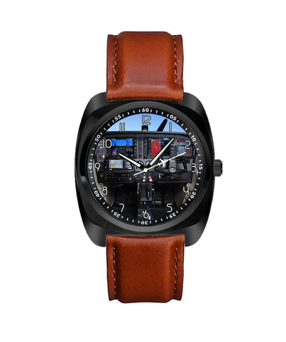 Cessna 172 Cockpit Designed Luxury Watches