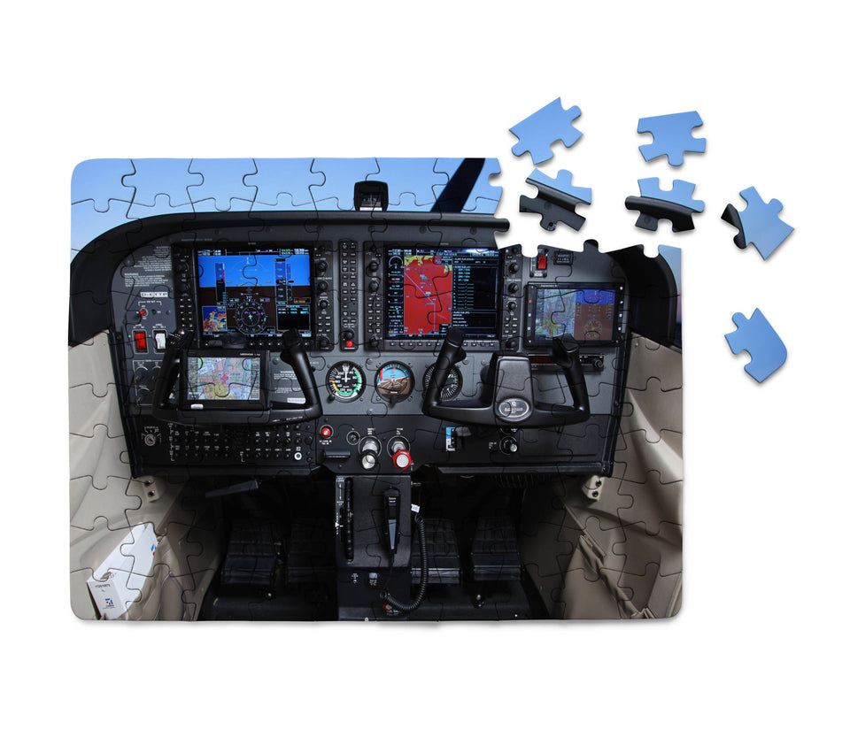 Cessna 172 Cockpit Printed Puzzles Aviation Shop