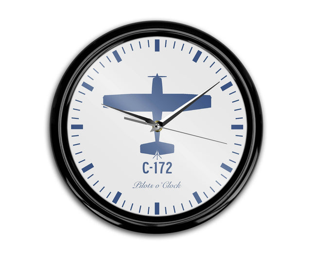 Cessna C-172 Printed Wall Clocks Aviation Shop