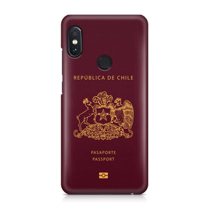 Chile Passport Designed Xiaomi Cases